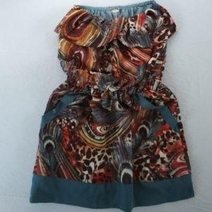 Ali & Kris Safari Dress Size Small